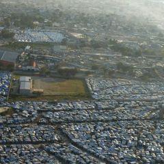 Первая годовщина землетрясения на Гаити