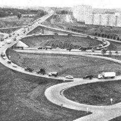 Московская кольцевая автомобильная дорога. Как это было.