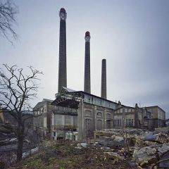 Брошенные заводы Германии