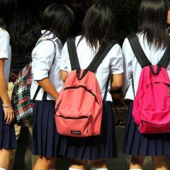 Школьники Японии
