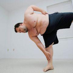 180-килограммовый марафонец