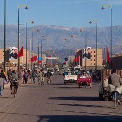 Обычный рынок в Марокко