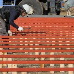 Процесс постройки домов в Японии
