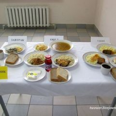 Рацион питания российских военных