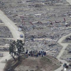 Япония через месяц после цунами