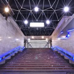 Космическое метро в Новосибирске