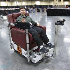 Подражающее кресло от Kinect