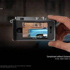 Док станция для iPhone от Leica
