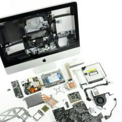 Вскрытие  Apple iMac
