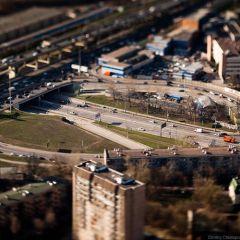 Маленькая Москва в масштабе 1:100
