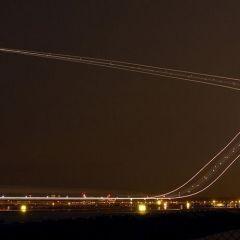 Лампочные самолетные взлеты