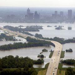 Миссисипи угрожает США величайшим потопом?