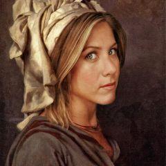 Современные знаменитости в картинах