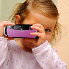 3D камера юного фотографа