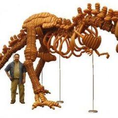 Воздушный динозаврик
