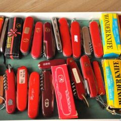 Процесс изготовления швейцарского ножа