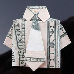 Денежное оригами