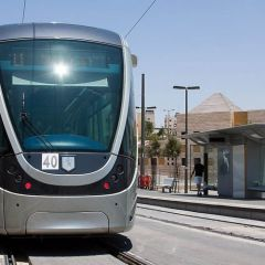 Иерусалимский трамвайчик