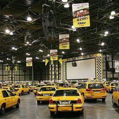 Желтое такси в New York'е