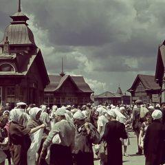Цветные фото Харькова во времена немецкой оккупации