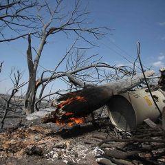 Пожары в Техасе и Оклахоме