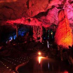 Пещеры в цвете