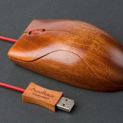 Мышка из дерева