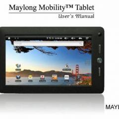 Внутренности планшета Maylong М-260