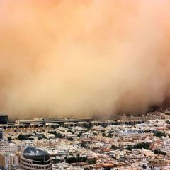 Подборка пыльных бурь