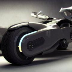Концепт электромобиля от Citroen