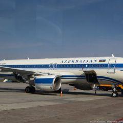 Азербайджанский самолет