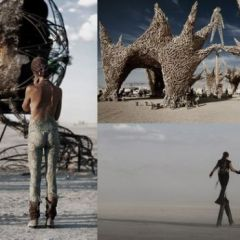 Арт-фестиваль Burning Man в Неваде