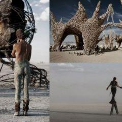 Арт-фестиваль Burning Man в Неваде