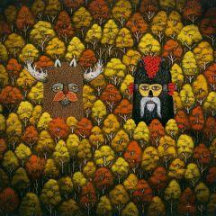 Леший и другие духи лесов в представлении Andy Kehoe