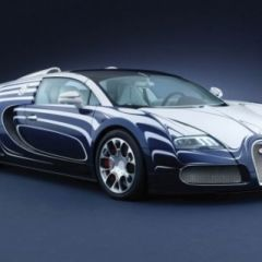 Уникальная версия автомобиля Bugatti Veyron