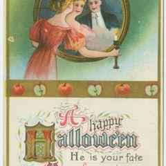 Открытки прошлого века к празднику Halloween