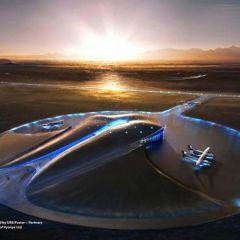 В пустыне штата Нью-Мексико открылся первый в мире космопорт