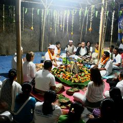 Балийский праздник «Агнихотра»