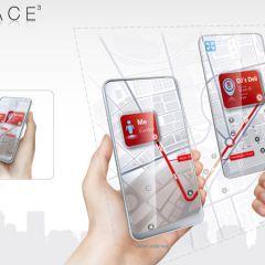 Концепт прозрачного тачфона  Space 3