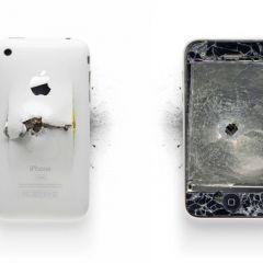 Нестандартаная фоторабота с Apple в главной роли