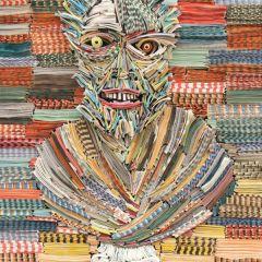 Скульптуры из газет от Nick Georgiou