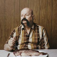 Люди и рыбы Ted Sabarese