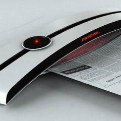 Концепт экологичного принтера Tanning Printer