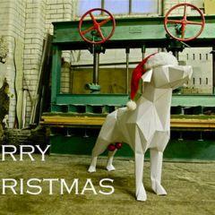 Открытки к Рождеству от дизайнеров