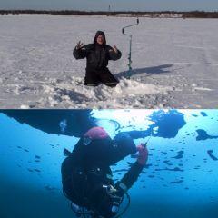 Перевернутая рыбалка