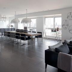 Белая квартира от дизайнера