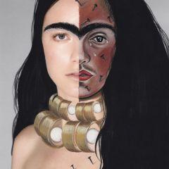 Гибридные портреты от Kristiina Wilson