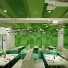 Зеленый китайский ресторан