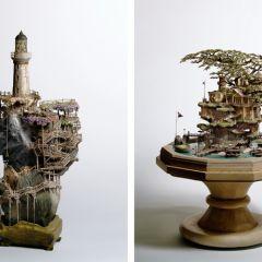 Миниатюрные скульптуры