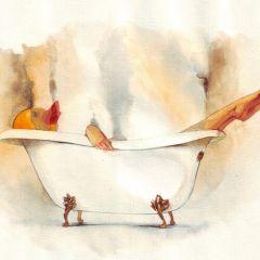 Акварельные иллюстрации Reey Whaar